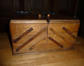 old wooden sewing box form antique french wooden sewing box