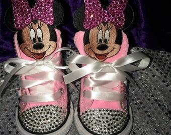 Custom Minnie Mouse Converse