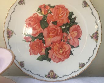 Lovely Vintage Royal Albert Collectors Plate, Elizabeth of Glamis