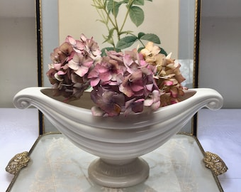 So Elegant and Classy Vintage Mantle Vase, Centrepiece, Flower Bowl
