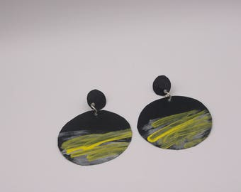 Abstract Paper Earrings