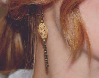 Earth earrings