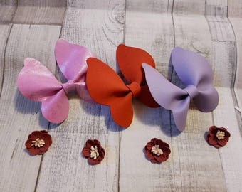 Butterfly Hairbows, clips, hair bows,  children's bows, baby bows, butterfly's, unique styles, gift bows, glitter bows,  hairbows, fashion