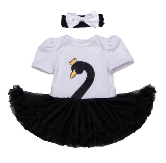 Halloween Costumes Baby Girl Clothes Black Swan Ballerina