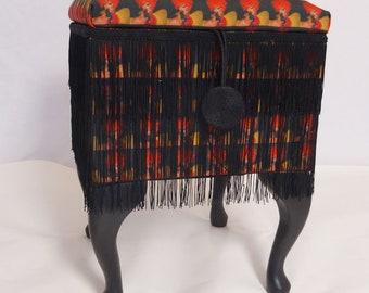 Bespoke square box stool