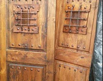 SpeakEasy,Door Speak Easy Door  Castle Door,Dungeon Door Knotty Alder