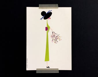 Color print Geisha, illustration from the series exceeds its predecessor