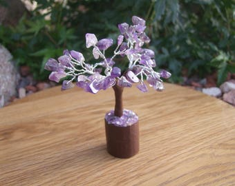Amethyst Chip Tree