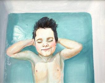 A Boy in the Bath