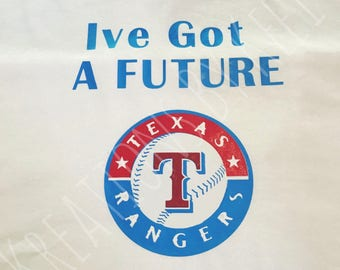 Texas Rangers Pregnancy Shirt