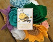 Happy Mail - Bee Happy Bee-cause Your Happy Mail Is Here