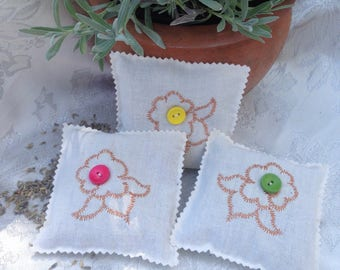 Cotton Lavender Sachets