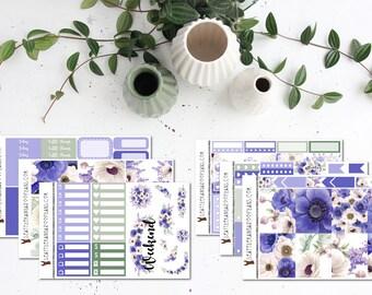 Wild Violet    Weekly Planner Kit (175+ Stickers)    Erin Condren, Happy Planner, Recollections    SeattlekangarooPlans