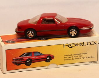 1988 Buick Reatta 1/24th Scale Model Promotional Car