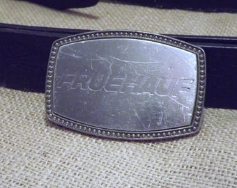 Fruehauf Buckle - Fruehauf Buckle, Trailer Buckle, Men's Belt Buckle, Vintage Belt Buckle, Trucker Buckle, Fruehauf Trailer Company