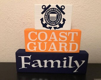 Coast Guard Family Sign