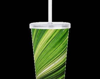 Tropical Island Palm Tumbler