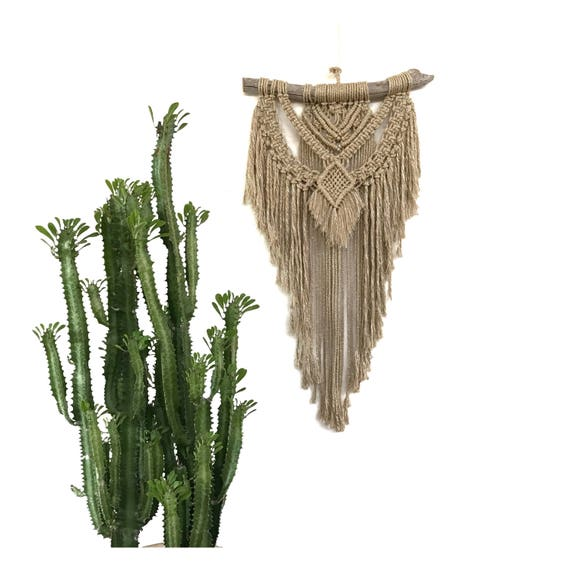 Macrame Wall Hanging RADIANT (in Gold)
