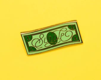 Single - Hard enamel lapel pin