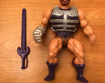 He-Man Masters of the Universe MOTU Fisto Action Figure Free Shipping