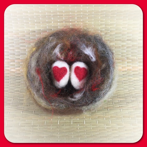 Bird Nest/Lovebird Nest/ Sweetheart Gift/ Love Nest