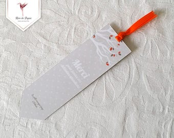 Bookmark - squirrel Theme thank you card