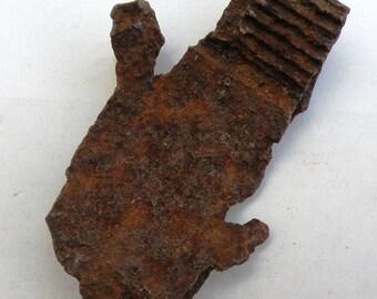 splinter from an air bomb of 1940-1945