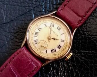 1950'S SWISS EDOX LADY'S Wrist Watch, Vintage 1950's Swiss Edox Women's Wrist Watch, Swiss Edox Women's/lady's Wristwatch, Vintage Watch