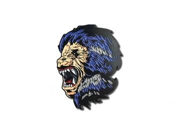 Werewolf Horror Enamel Pin