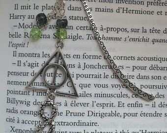 Inspired by Harry Potter Slytherin bookmark