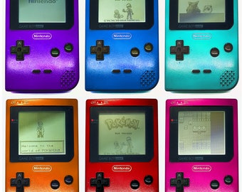 Customized 1996 8-bit Gameboy Pocket