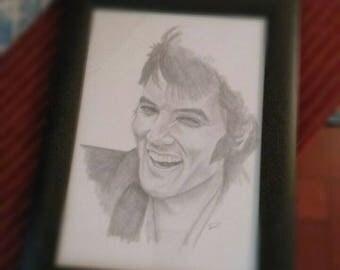 Portraits in graphite size A4