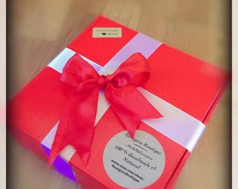 Gift Box for gift set 8x8x2/34 inches.