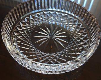 "Waterford Cut Crystal 5"" Wine Coaster"
