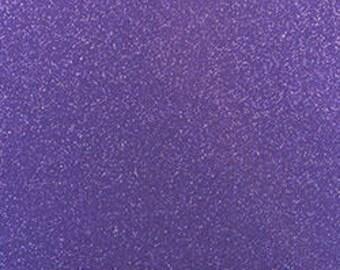 """142 Purple 12""""x 12""""  StyleTech 2000 Ultra Metallic Glitter Adhesive Indoor / Outdoor Vinyl - Similar to Oracal 651"""