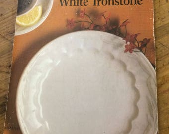 A Look at White Ironstone by Jean Wetherbee PaperBack Essential! For Collectors/Enthusiasts 1990 OOP Free Shipping