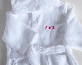 Baby dressing gown white dresses