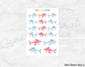 SHARK Planner Stickers