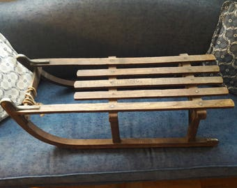 ANTIQUE DAVOS SLED