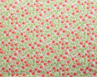 """Moda """"Hello Darling"""" by Bonnie and Camille ~ SMALL FLORAL ~ Cream 55117 14 ~ Half Yard Increments"""