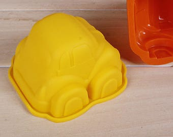 silicone mold car new