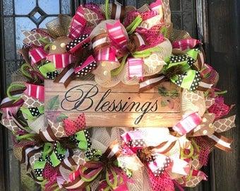 Blessings Wreath