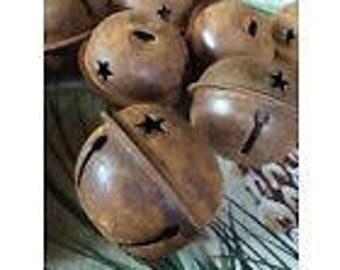 Rusty Jingle bells 38 mm- 1 1/2 inch