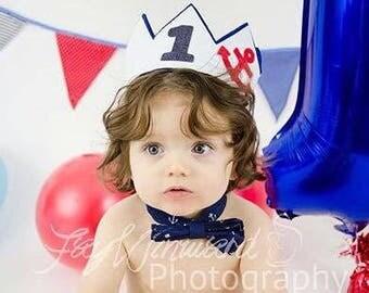 Nautical Birthday Crown