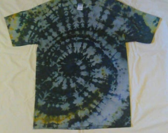 Large Ice Tie Dye Gildan Ultra Cotton T-shirt