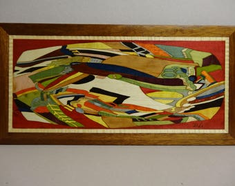 WAVE INLAY Panel 44 X 22 abstract 1