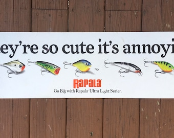 Rapala Lures Advertisement Counter Top Pad Tackle Store