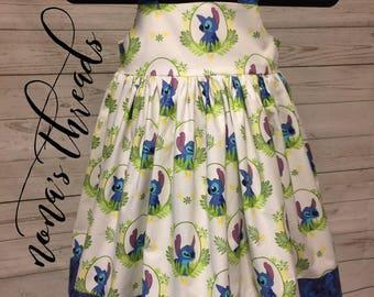 Disney's Stitch Dress - White