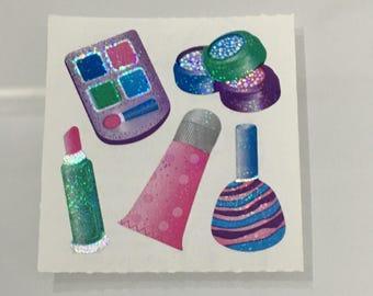 Vintage Sandylion Shiny Makeup Stickers