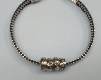 Beaded Zipper Bracelet